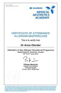 certyfikat-dla-dr-olender-specjalisty-chirurga-plastyka