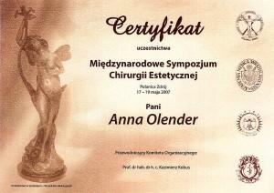 certyfikat-uczestnictwa-sypozjum-medycyny-estetycznej