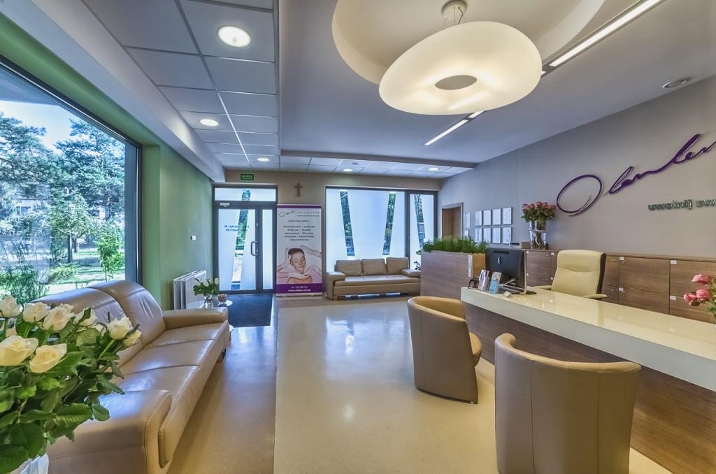 Hol główny w klinice chirurgii plastycznej