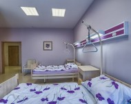 Sala dla pacjentów z dwoma łóżkami