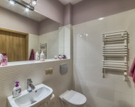 Nowoczesna łazienka w sali dla pacjentów