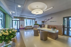Recepcja w klinice Dr Olender