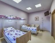 Dwuosobowa sala dla pacjentów